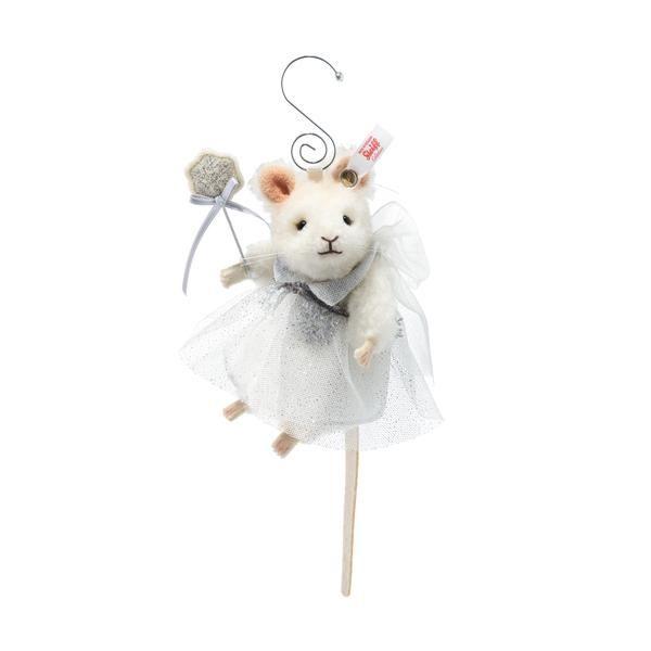 Mouse fairy Christmas tree ornament 11cm (4.5 inches) high. Steiff 006913