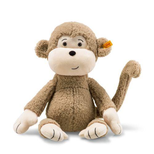 Soft Cuddly Friends Brownie Monkey Light Brown 40cm by Steiff 060328