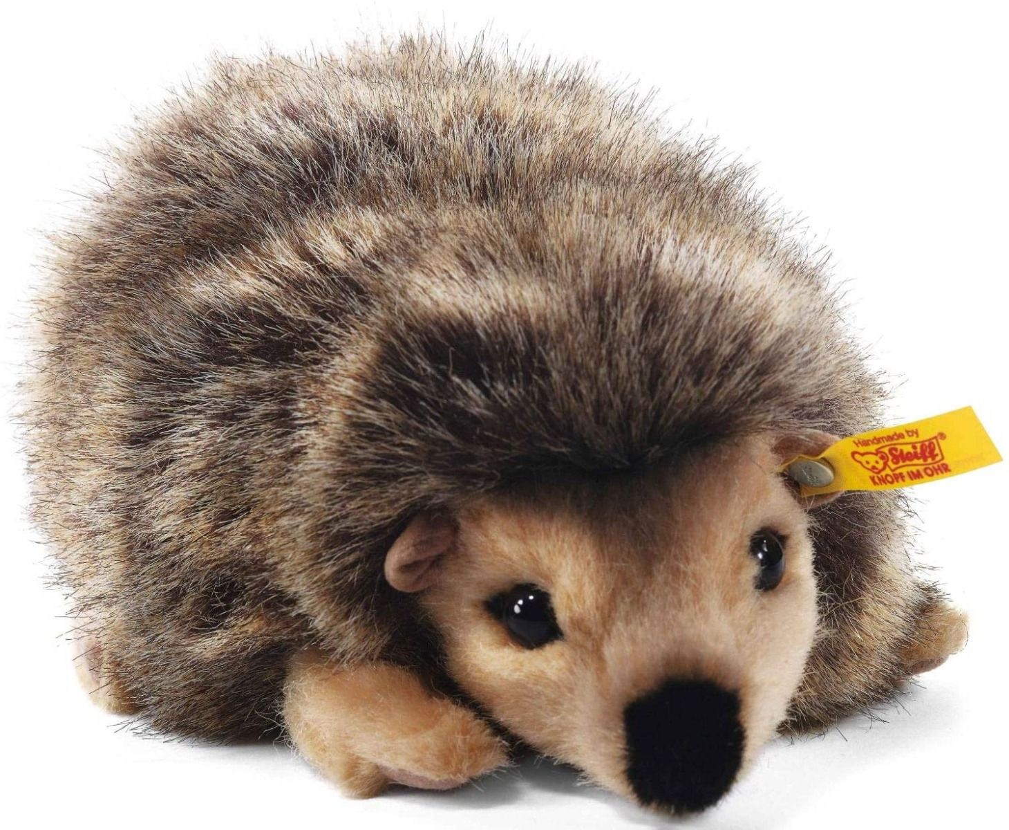 Steiff Joggy Hedgehog Brown Plush 16cm 070792