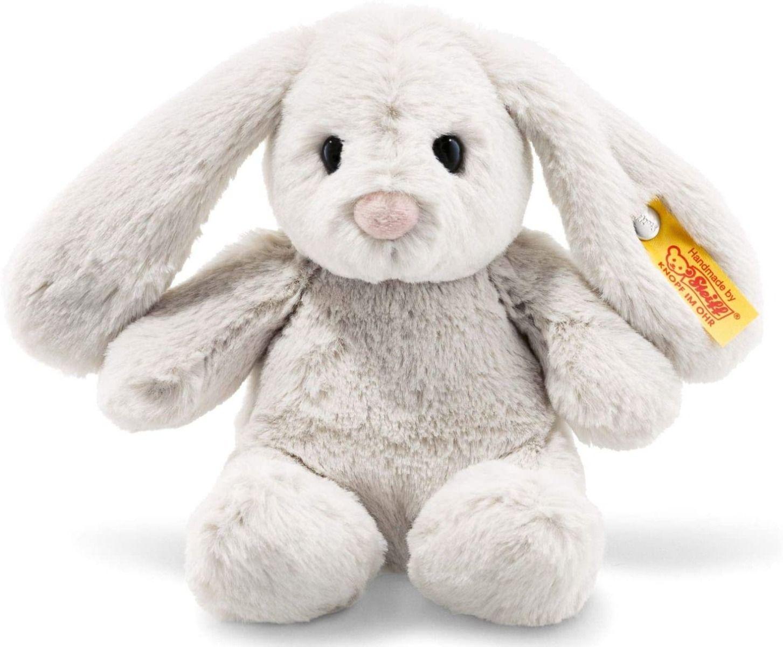 Steiff Hoppie Rabbit Light Grey Plush 18cm 080463