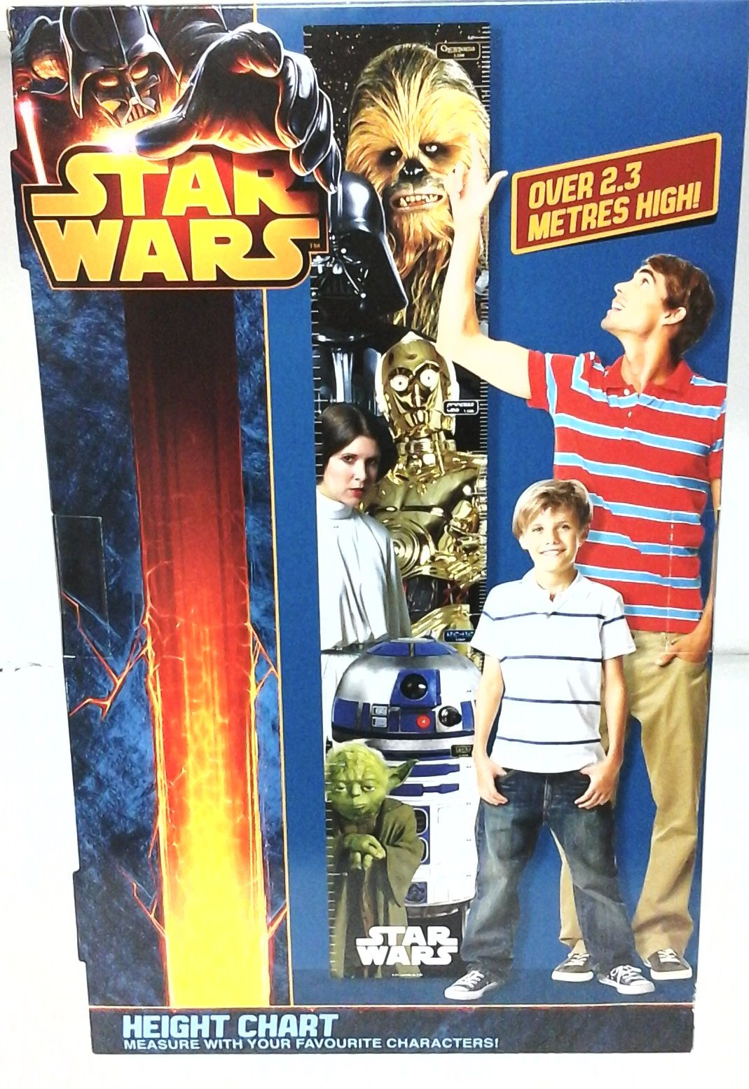 PP0909SW Star Wars Height Chart