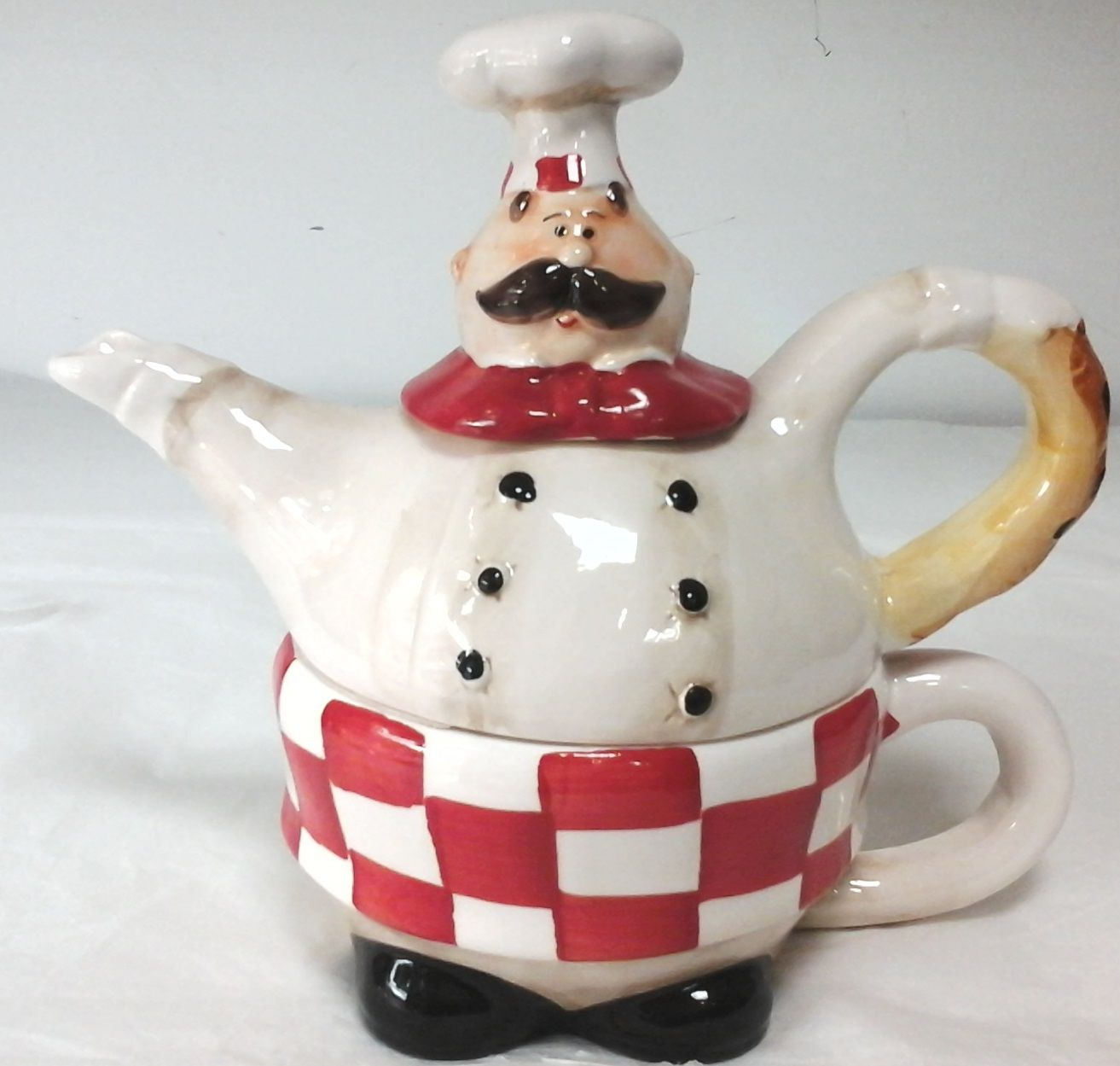 4072 Chef Teapot Set by Giftworks