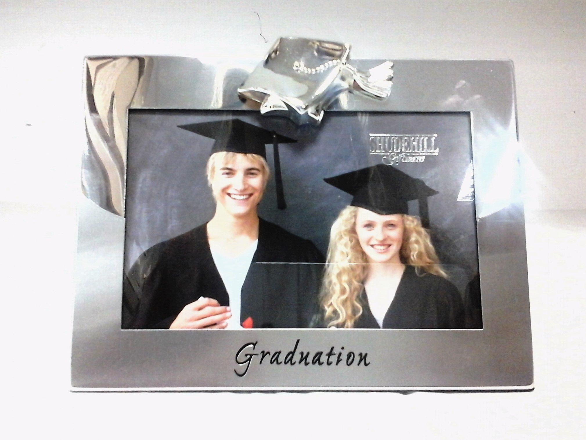 60320 Graduation Two Tone 4x6 Photo Frame