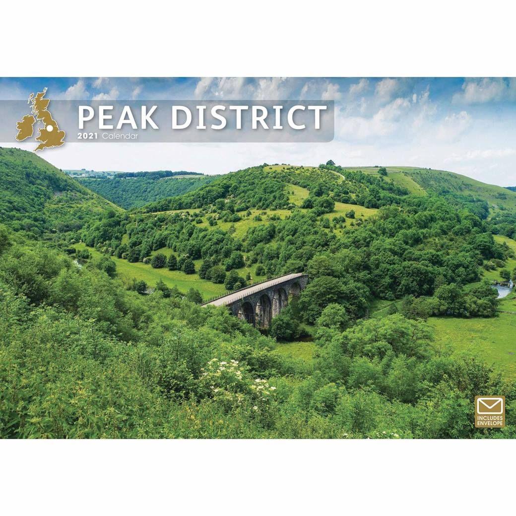 Peak District 2021 A4 Calendar by Carousel Calendars 210164