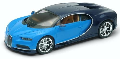 Welly Bugatti Chiron Blue 1:24 scale 24077WBLUE