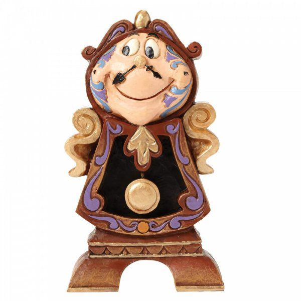 Keeping Watch (Cogsworth Figurine)4049621 by Disney Enesco