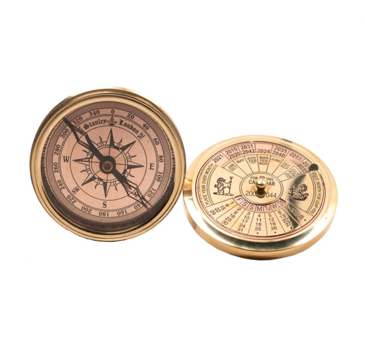 Authentic Models 40 year Calendar Compass CO030