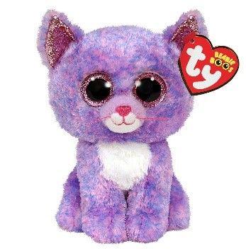 Ty Cassidy Cat Beanie Boo Clip 35244