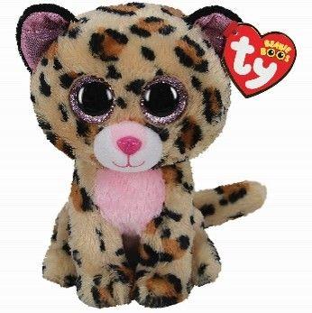 TY Livvie LeopardBeanie Boo regular 15 cm 36367