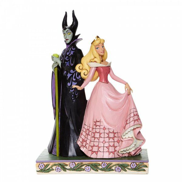Sorcery and Serenity - Aurora and Maleficent Figurine6008068 by Disney Enesco