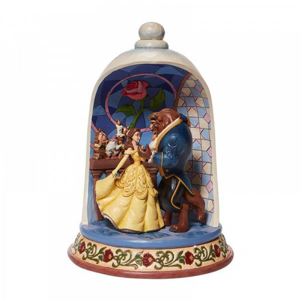 Enchanted Love - Beauty and the Beast Rose Dome Figurine6008995