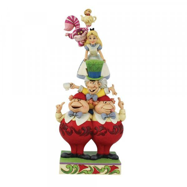 We're All Mad Here - Stacked Alice in Wonderland Figurine6008997