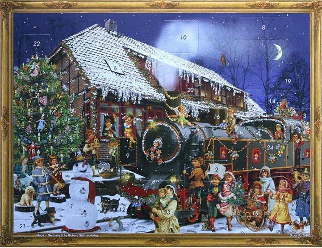 Richard Sellmer Advent Calendar The Christmas Train 70100