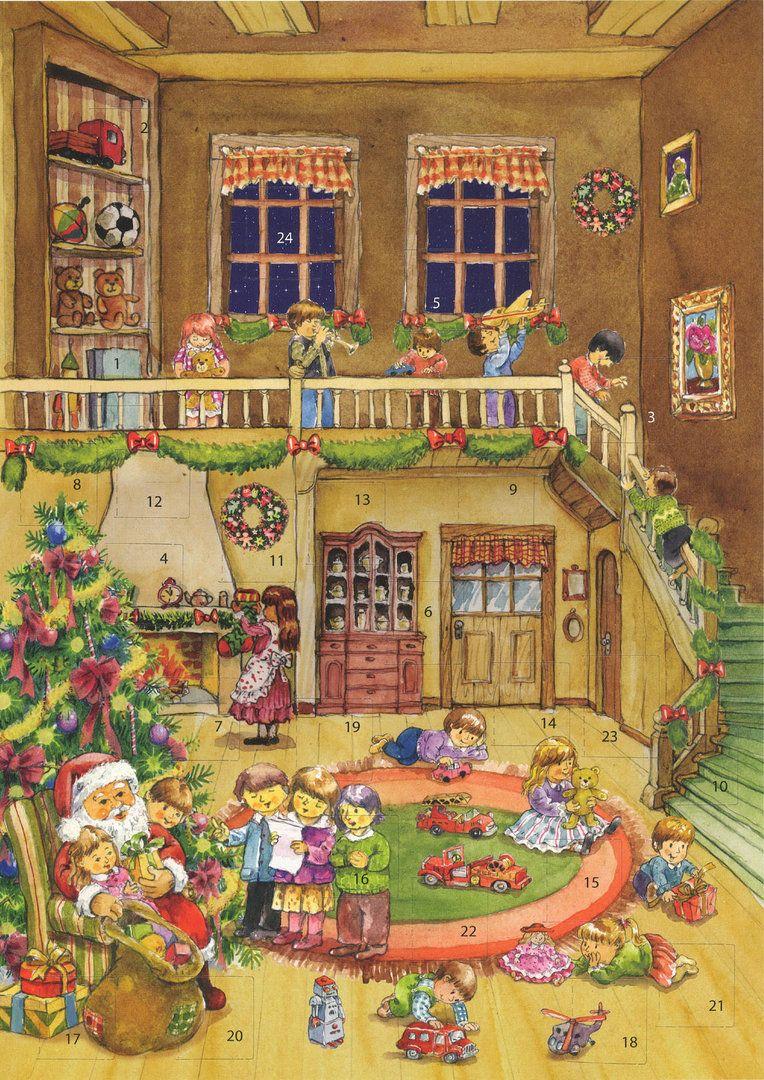 Richard Sellmer Advent Calendar Gifts from Santa Claus 70119