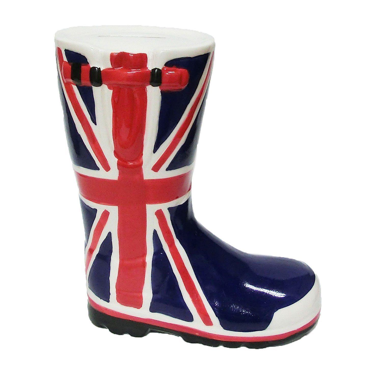 Wellington Boot Ceramic Money Bank Elgate 67449