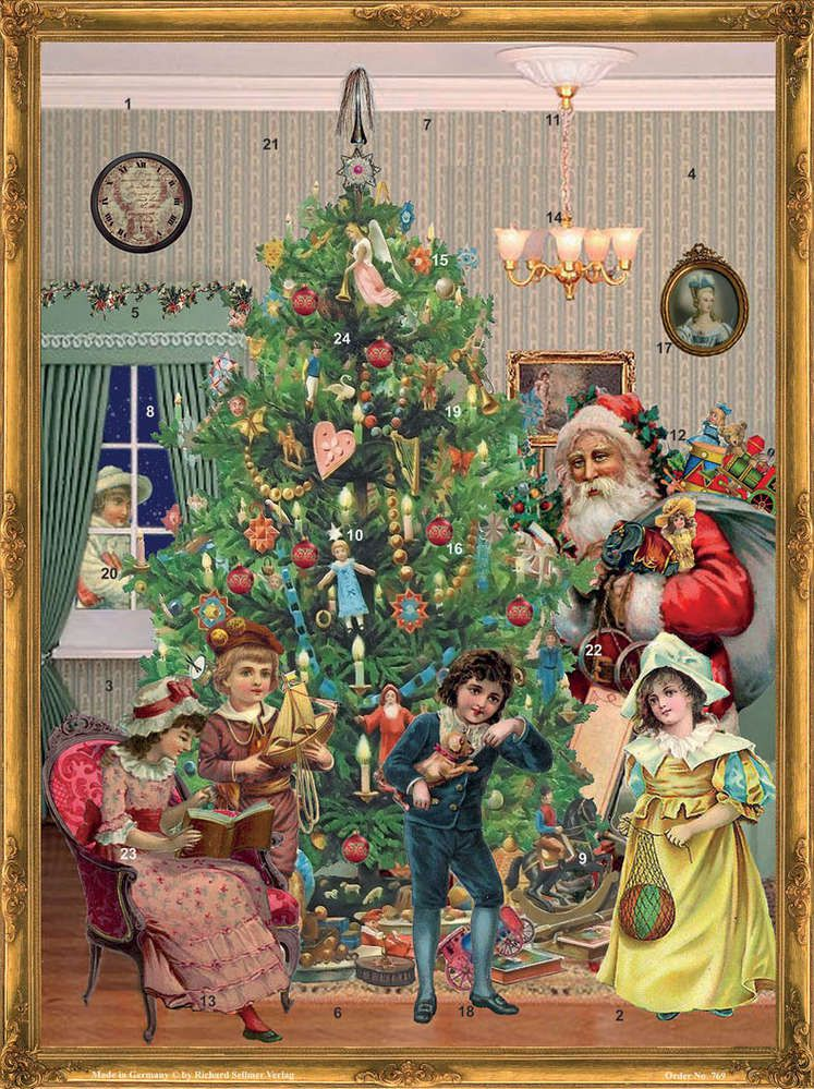 Richard Sellmer Advent Calendar At the Christmas Tree 769