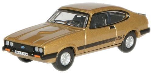 Oxford Diecast Ford Capri MKIII Solar Gold 76CAP002