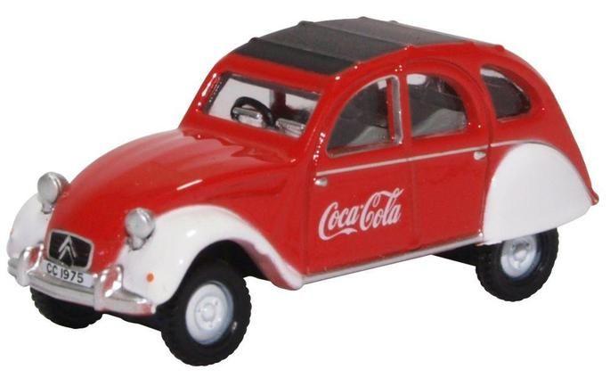 Oxford Diecast Citroen 2CV Coca Cola 76CT007CC