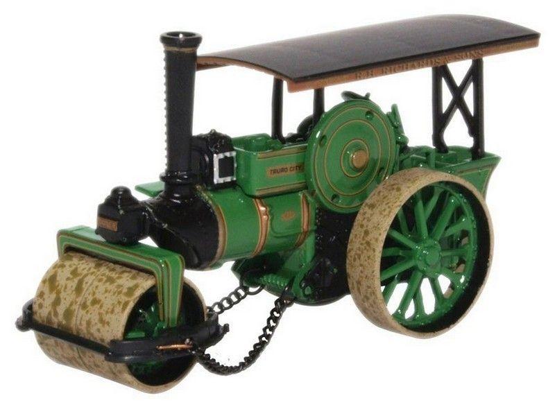 Oxford Diecast Fowler Steam Roller No.18873 City of Truro 76FSR005