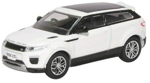 76RRE002 Range Rover Evoque Coupe (Facelift) Fuji White by Oxford Diecast