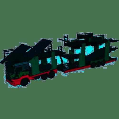 Oxford Diecast Eddie Stobart Car Transporter - Christina Frances 76SCT005