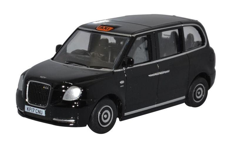 Oxford Diecast 43TX5001 TX5 Taxi Black
