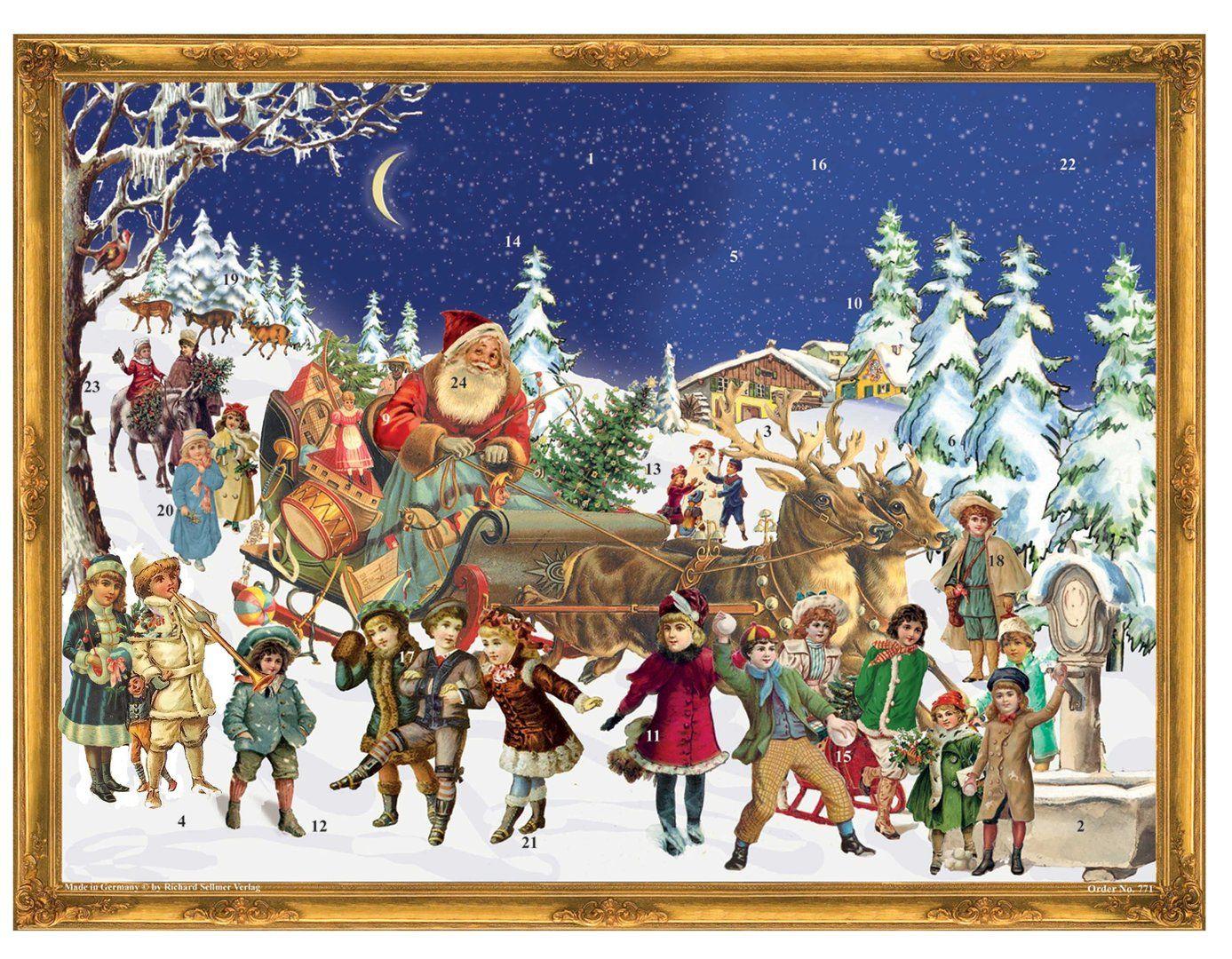 Richard Sellmer Advent Calendar Santa's Sleigh 771
