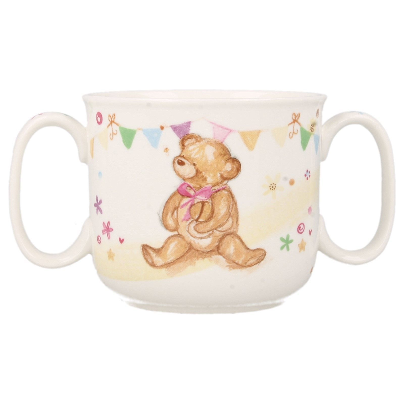 LP33238 Little Bear Hugs Collection Twin Handled Cup