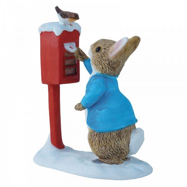 Beatrix Potter Peter Rabbit Posting a Letter Enesco A3486