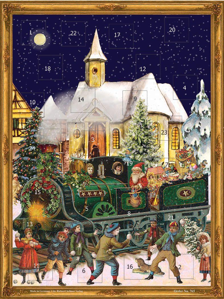 Richard Sellmer Advent Calendar The Christmas Train 765