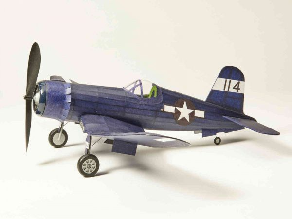 Vought F4U Corsair Balsa Wood Kit by The Vintage Model Company