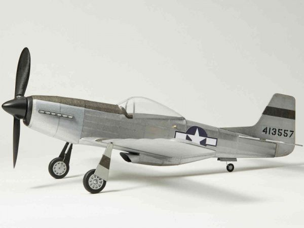 P-51D Mustang Balsa Wood Kit 1:24 by The Vintage Model Company