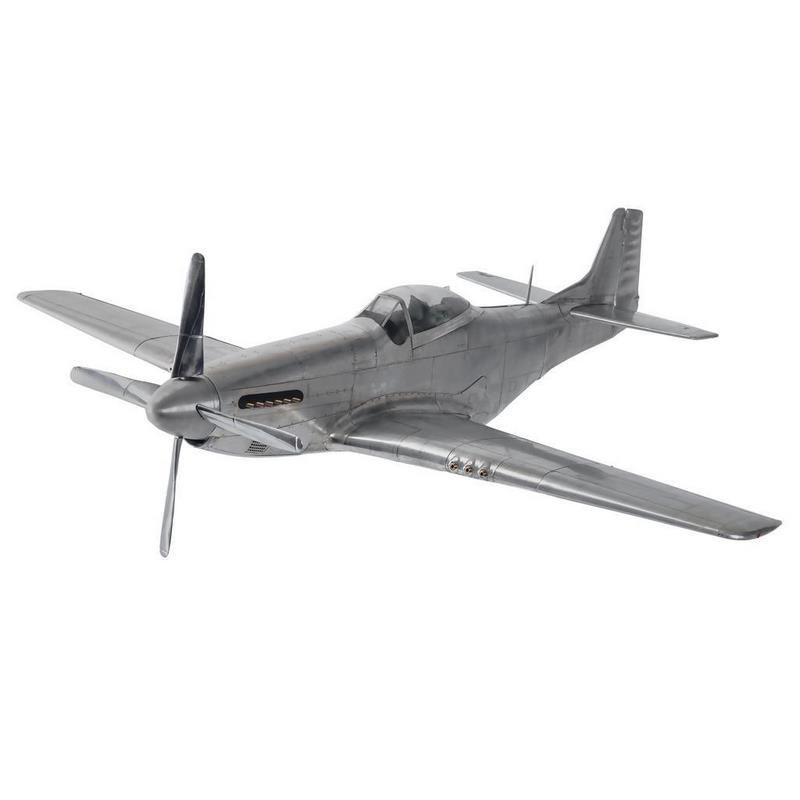 Authentic Models Large Aluminium WWII Mustang Model AP459