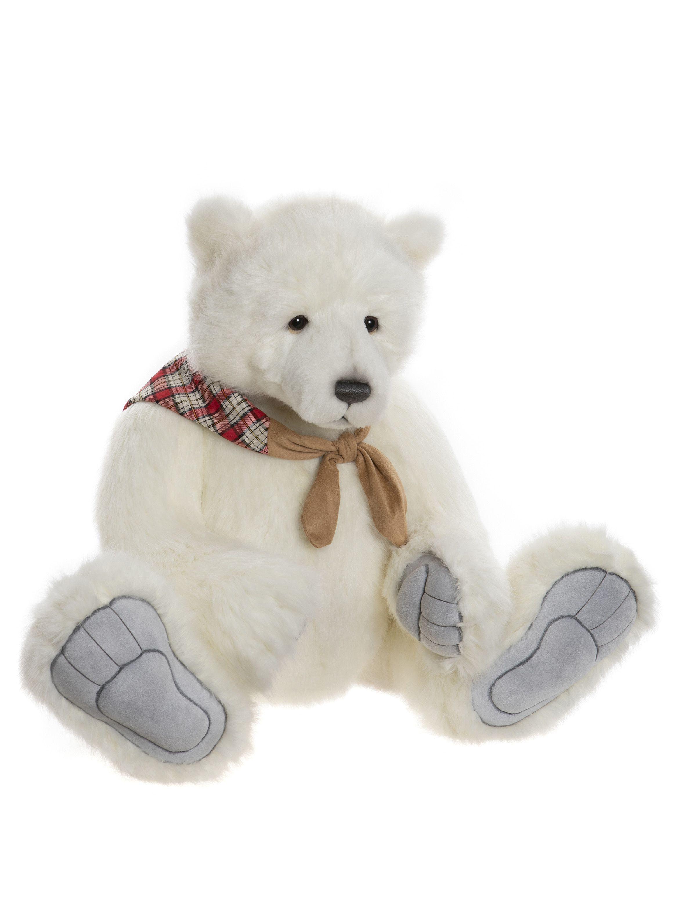 Charlie Bears Barret Plush Polar Bear CB202061
