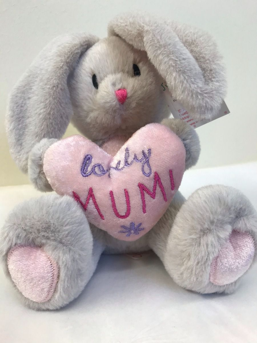 Lovely MUM soft toy bunny rabbit by Widdop Bingham Close to Your Heart range BEB163