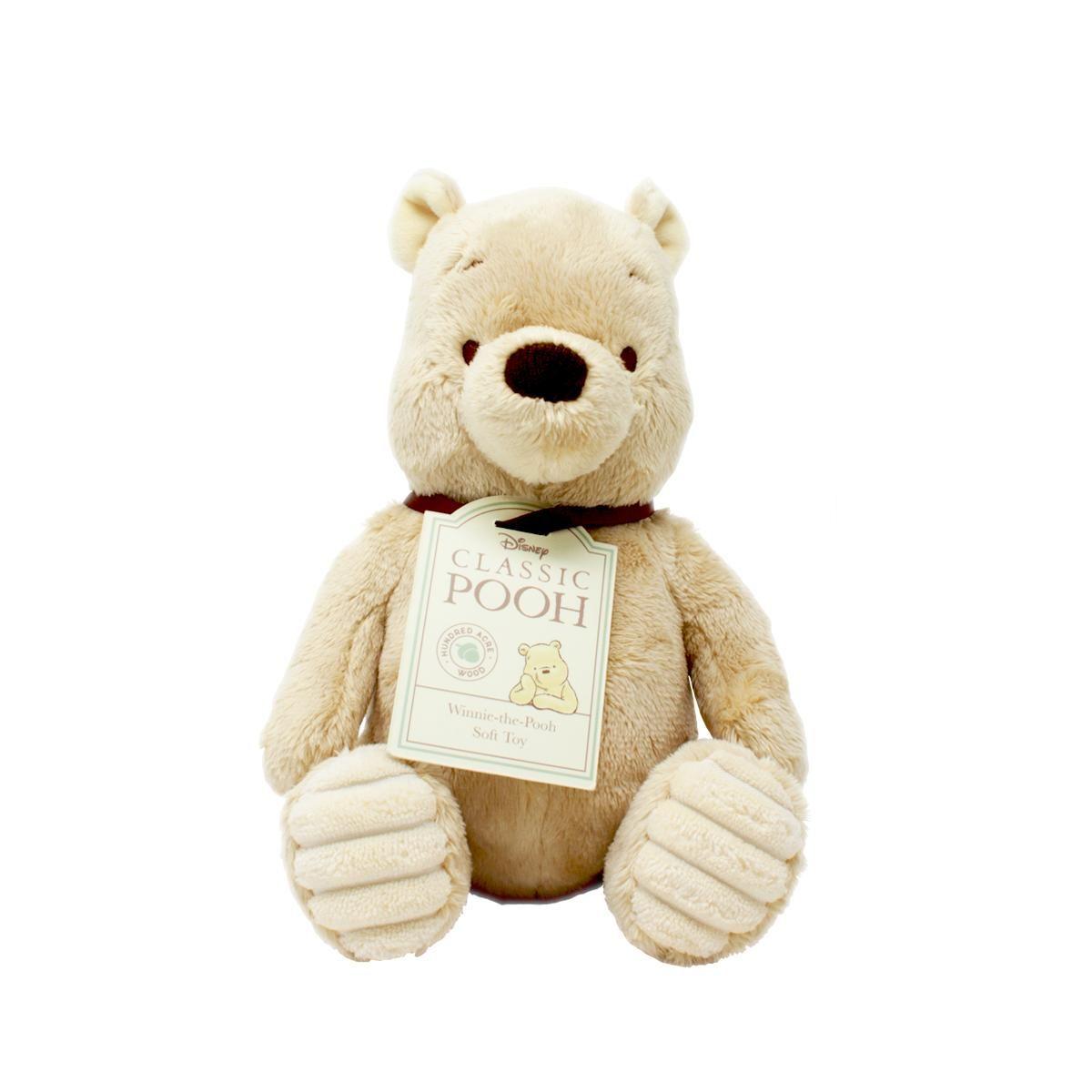 Classic Winnie the Pooh 20cm Soft Toy by Rainbow Designs DN1460