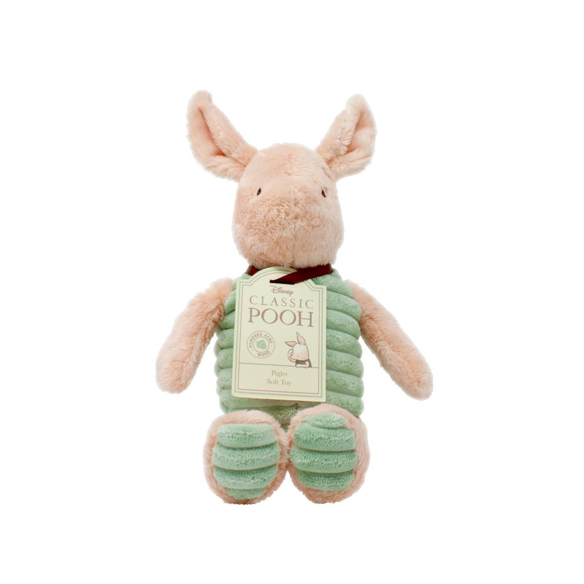 Hundred Acre Wood Piglet Soft Toy by Rainbow Designs DN1473
