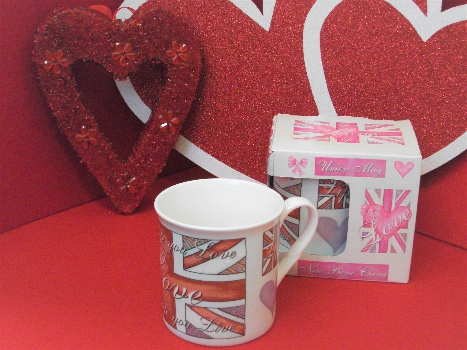 Union mug Love by Rebecca Rose Bone China NCM RR UNION 001