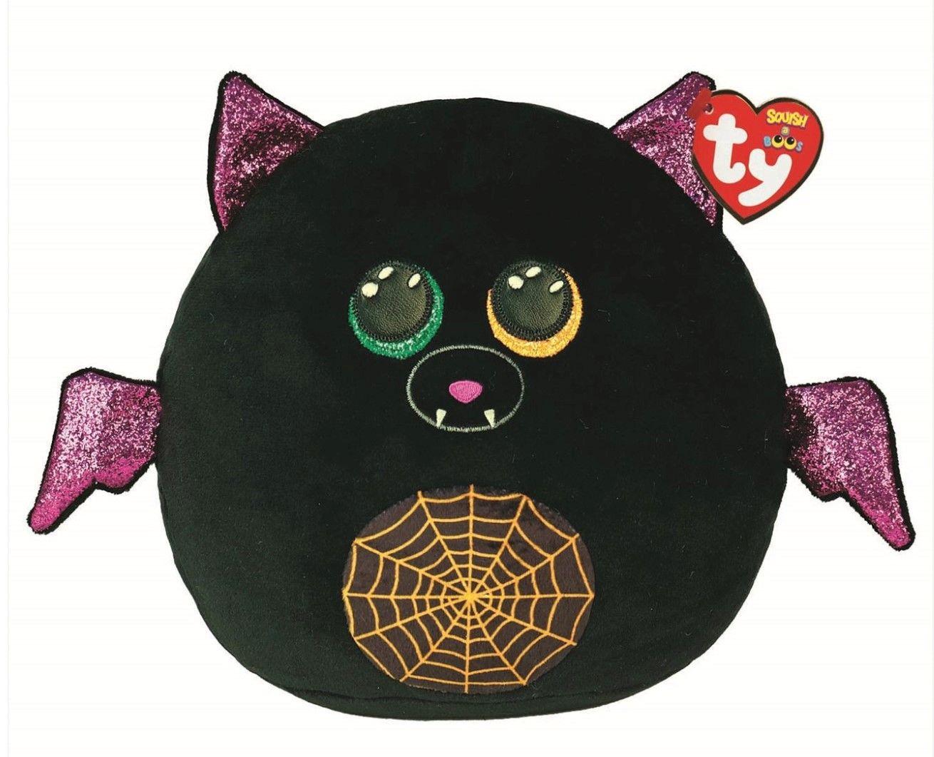 "Ty Eerie Halloween Bat Squish-a-boo 10"" 39305"