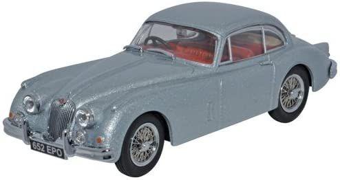 Oxford Diecast Jaguar XK150 Fixed Head Coupe Mist Grey JAGXK150007