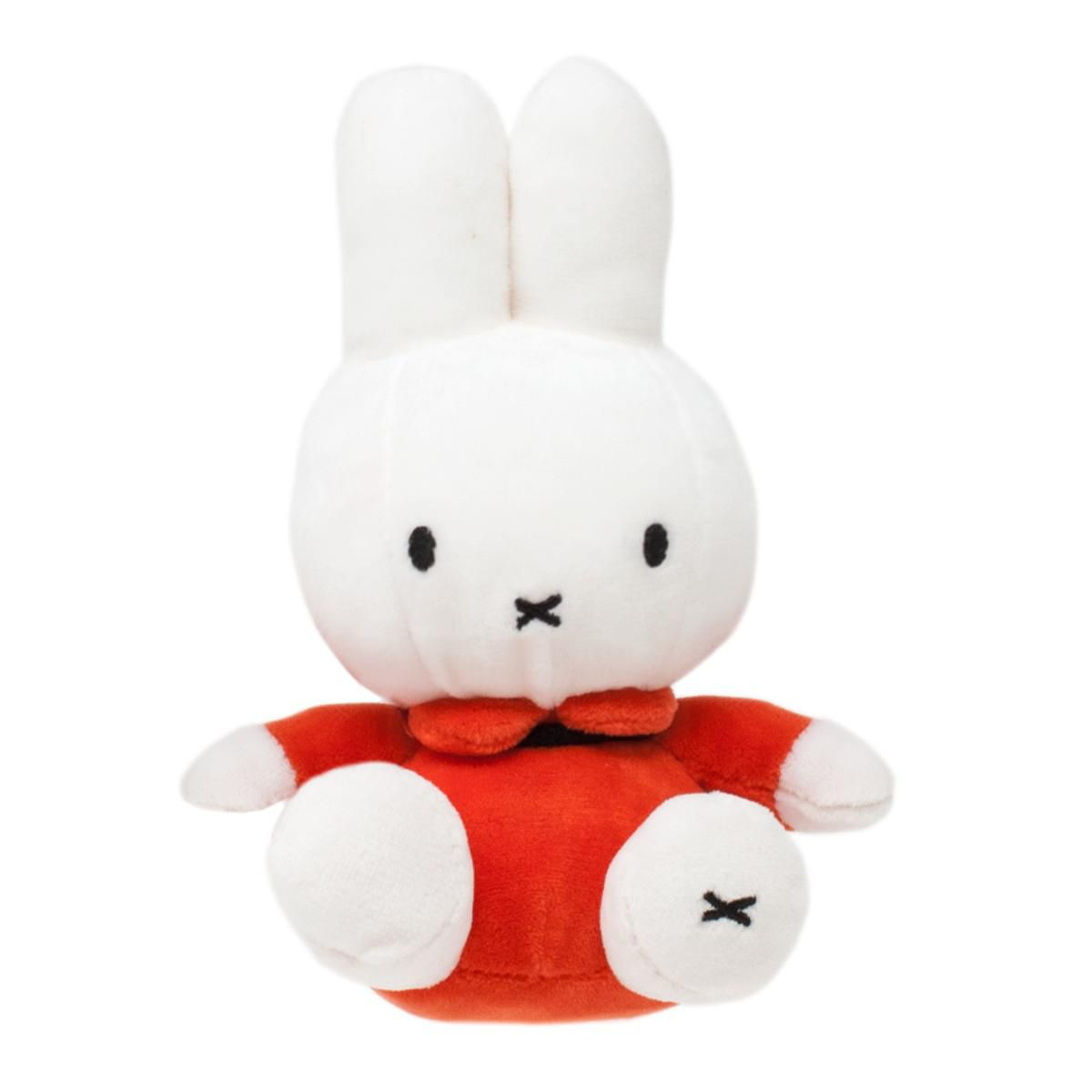 Classic Miffy Soft Toy in Orange Dress by Rainbow Designs MF1457OR