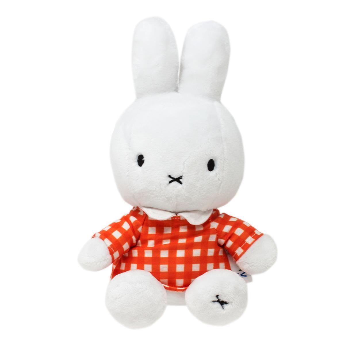 Classic Miffy Fashion Orange Soft Toy 22cm by Rainbow Designs MF1458OR