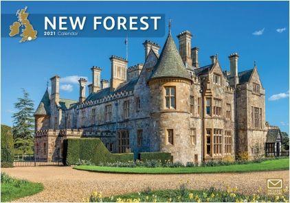 New Forest 2021 A4 Calendar by Carousel Calendars 210134