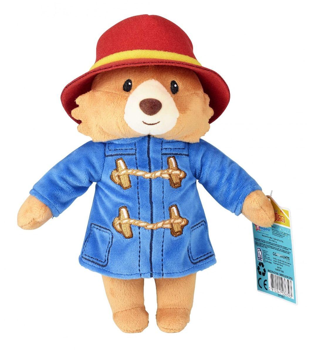Paddington 22cm Collectible Plush Soft Toy by Rainbow Designs PA1799