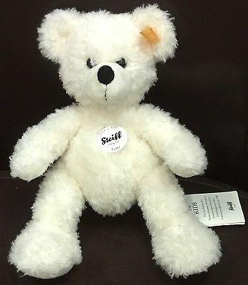 Steiff Lotte Teddy Bear Best for Kids White Plush 28cm 111310