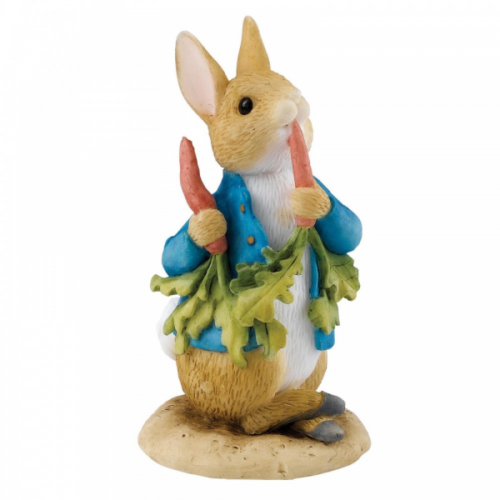 Beatrix Potter Peter Ate Some Radishes Figure by Enesco A26708