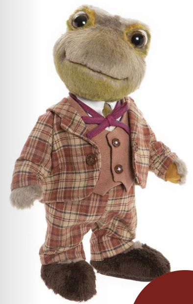 Charlie Bears Toad from Wind in the Willows Limited edition 25cm SJ2031