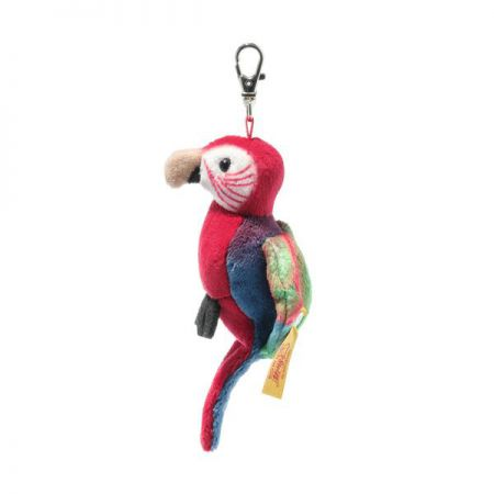 Steiff Macaw Parrot Pendant National Geographic 9cm 024405