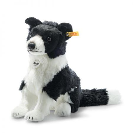 Steiff Jaycee Border Collie Plush 28cm 122163