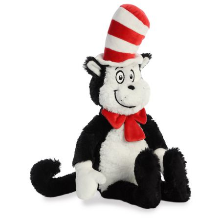 15910 Dr Suess' Cat in the Hat 20 inch Plush Soft Toy by Aurora World